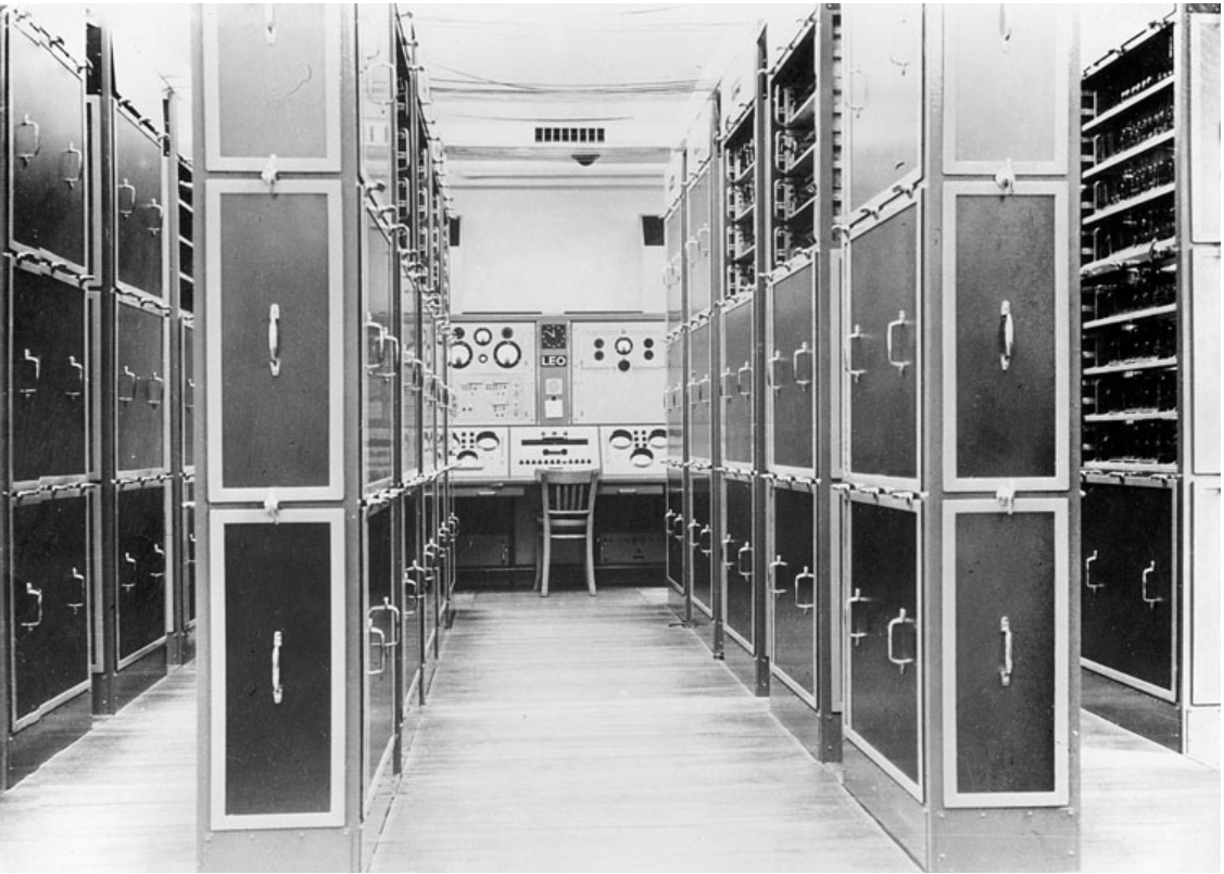 The LEO computer supported Lyons' decision making at the turn of the century