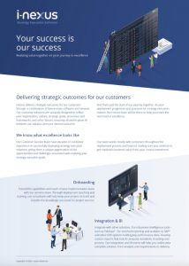 Customer success overview brochure