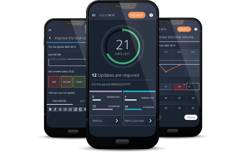 i-nexus pulse strategy execution mobile software