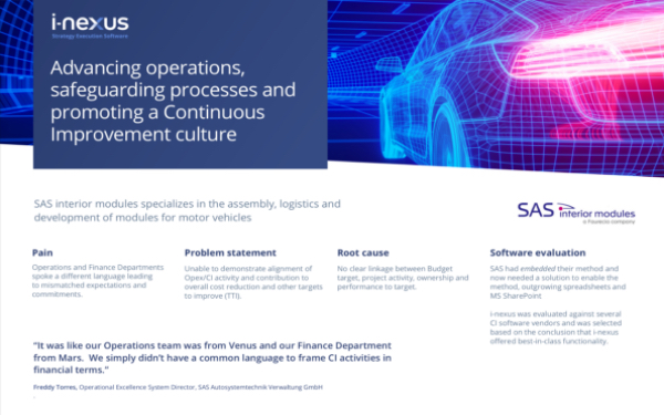 SAS Automotives case study